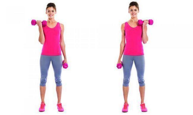 5 Ефективних вправ з гантелями для дівчат