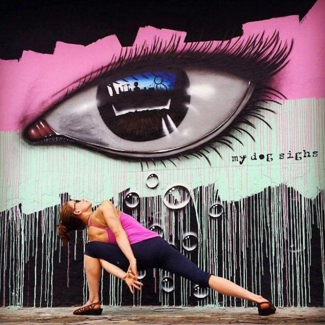 йога і вуличне мистецтво