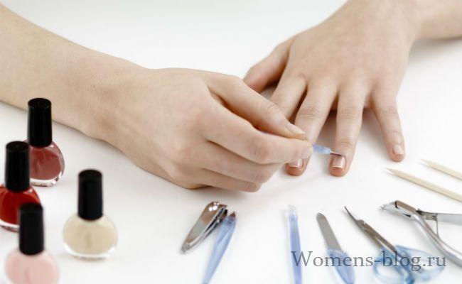 Народні засоби для догляду за нігтями