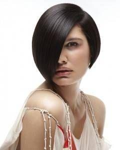 Стрижки для середньої довжини волосся