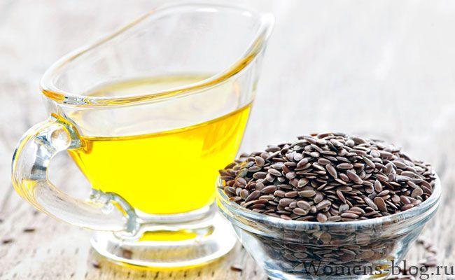 Лляна олія: цілющі і лікарські властивості, застосування в косметології