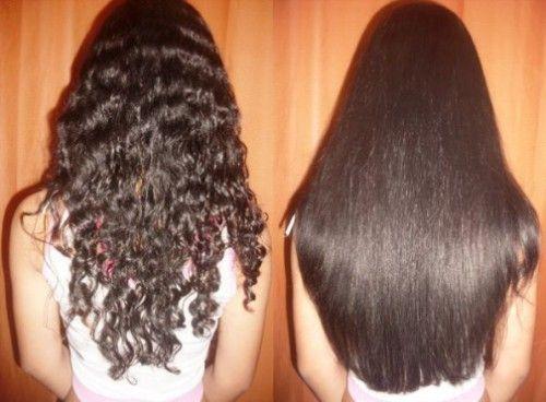як правильно випрямляти волосся