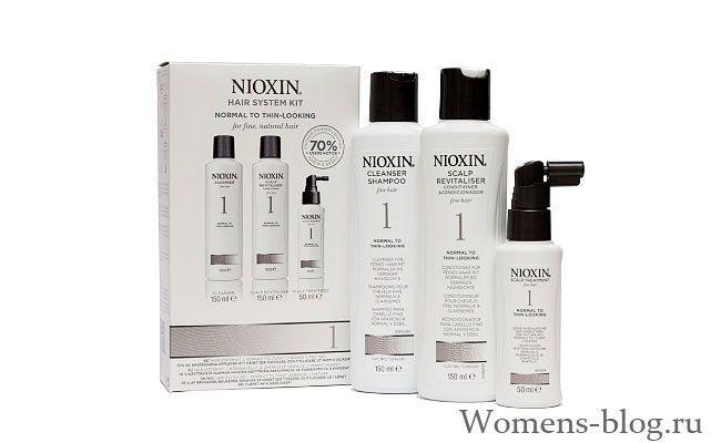 Nioxin - професійні засоби для догляду за волоссям