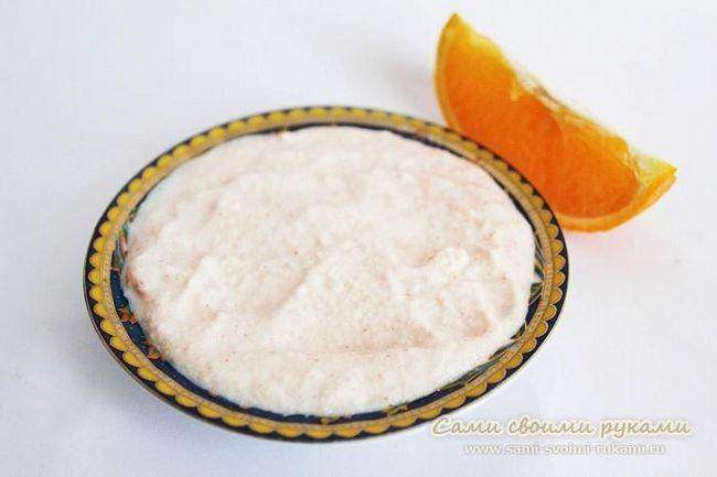 Очищаюча маска з апельсином