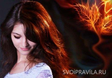 Один із секретів красивого волосся