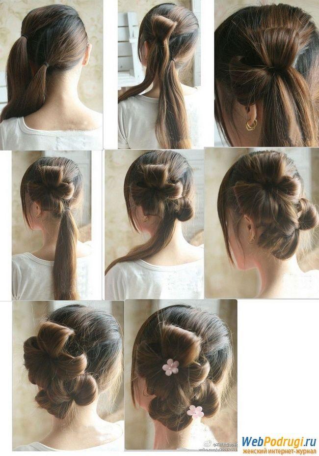 Зачіска на довге волосся в домашніх умовах. Плетіння волосся