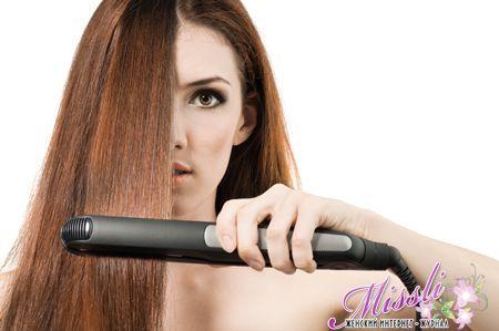 шкідлива плойка для волосся