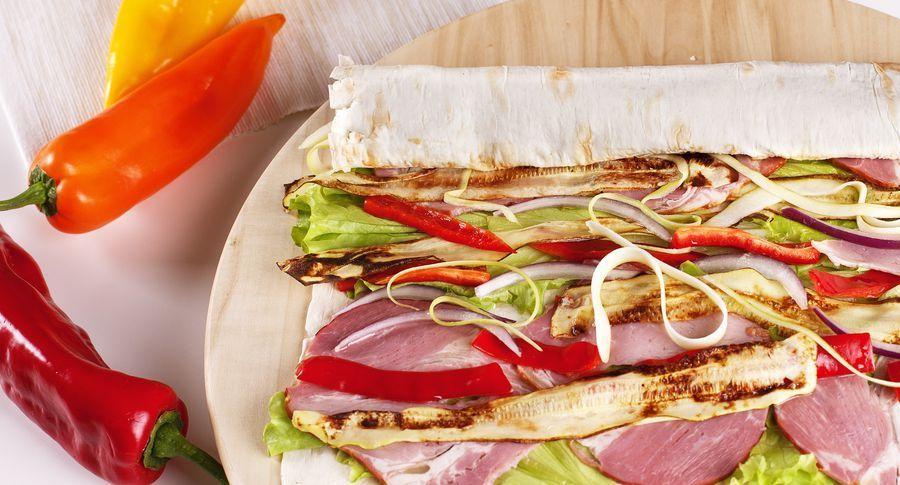 Рецепт: фарширований лаваш, запечений в духовці