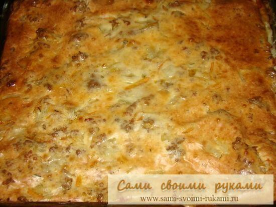 Рецепт м`ясного пирога