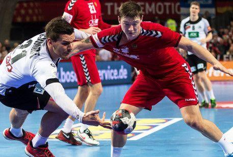 Російські гандболісти поступилися німцям в матчі че по гандболу
