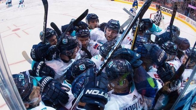 Збірна європи з хокею сенсаційно обіграла шведів