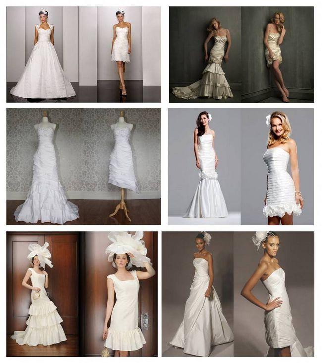 Весільні трансформації - або супер плаття 2 в 1