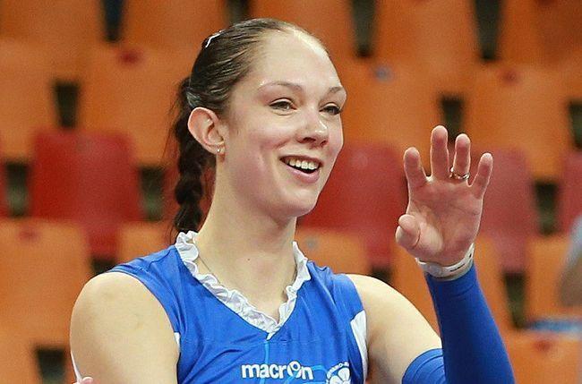 Волейболістка екатерина гамова завершила кар`єру